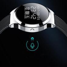 16GB cyfrowy zegarek dyktafon z ekranem OLED profesjonalny sprzęt Audio aktywowany dźwiękiem dyktafon