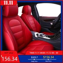 Kokololee Custom Auto Echt Leer Car Seat Cover Voor Honda Accord Odyssey CR V XR V UR V Civic Auto Accessoires Autostoeltjes