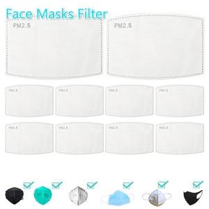 20/50/60/100 шт. 5-слойная маска PM2.5 маска фильтровальная бумага анти-дымка маска для лица фильтр противотуманная Пылезащитная маска Личная забот...