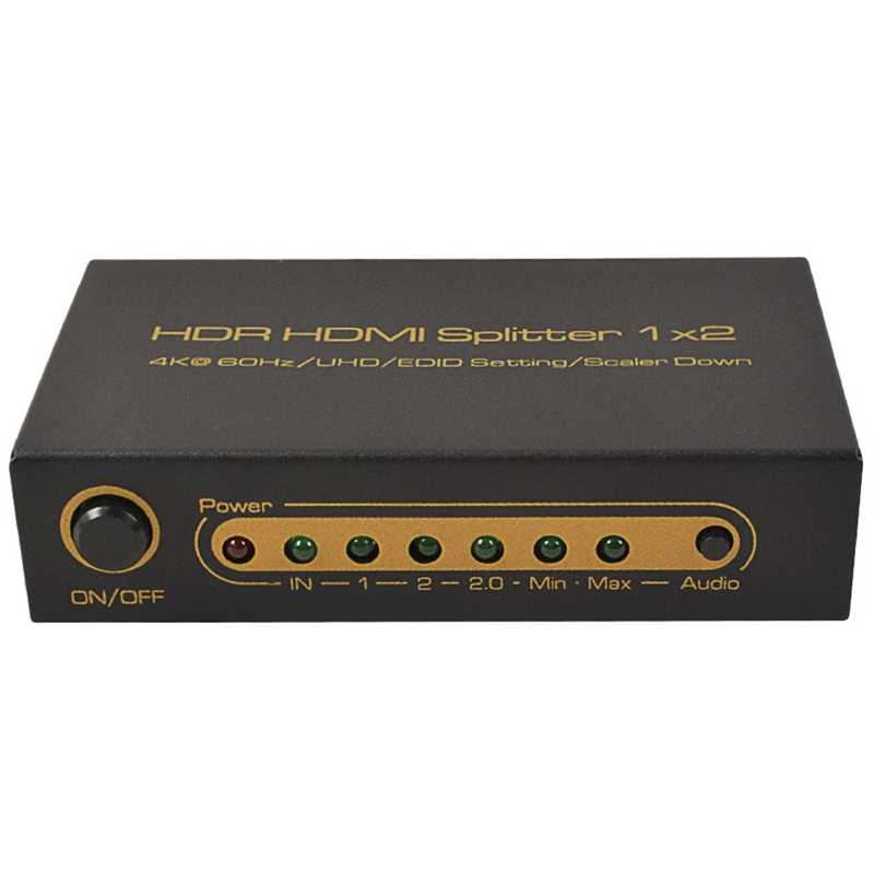 Ultra HD HDMI One Two Two In 1 Out 4K3D Video Splitter Supports Simultaneous Output of Two Resolutions EU Plug|Operational Amplifier Chips| |  - title=