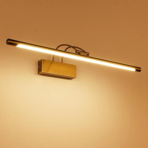 banheiro led espelho luz quarto lampada de