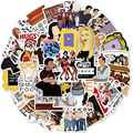 10/50/100PCS Friends sticker TV Show Letter Anime Vintage Paster Gift Toy Funny Decal Scrapbooking DIY Phone Laptop Stickers