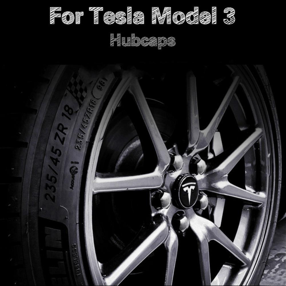 Wheel Cover Trim Car Accessories For Tesla Model 3 Wheel Accessories Model 3 Tesla Three Tesla Model 3 Auto Accessoires Model3