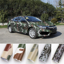 Camouflage Vinyl Film Car Stickers Waterproof Wrapping Car Vinyl Film Motorcycle Styling DIY Digital Camouflage Vinyl Film Wrap protwraps black green brown camouflage vinyl motorcycle car vehicle scooter diy camo vinyl wrap with bubble free
