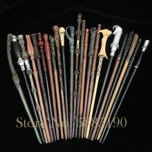 28 종류의 코스프레 마술 지팡이 금속/철 코어 어린이 마술 장난감 지팡이 선물 상자 없음 패키지 Prop Stage Magic Tric