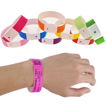 100 Pcs Count Tyvek Wristbands 3/4 Inch Disposable Waterproof  Paper Wristbands for Party Playground  Events Table Number brown benjamin thompson count rumford paper