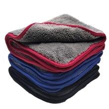 Asciugamano in microfibra per lavaggio auto 48*42CM Extra morbido asciugamano per pulizia auto panno per asciugatura cura dellauto dettaglio del panno asciugamano per lavaggio auto non graffiare mai