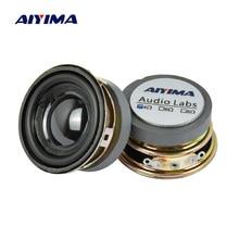 AIYIMA 2Pcs 1.5 Inch 전체 주파수 사운드 스피커 40MM 4 옴 3W 블루투스 스피커 PU 분지 스피커 오디오 앰프 DIY