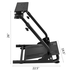Image 4 - G920 Racing Steering Wheel Stand Shifter Mount fit for G27 G25 G29 Gaming Wheel Stand Wheel Pedals