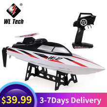 Boats Remote-Control WL912-A RC High-Speed Wltoys 35km/H Capsize-Protection