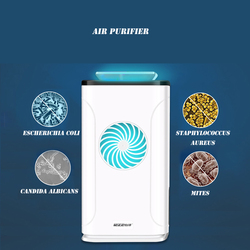 Ozone Air Purifier Formaldehyde Removing Car Deodorization Air Ionizer Rechargeable Ozone Generator Prevent Virus