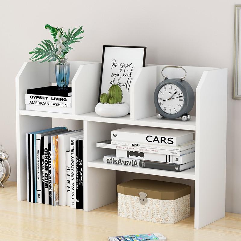 Table Storage Shelf Minimalist Modern Student Desk Storage Small Bookshelf Economical Simplicity Desktop Organizing Rack Bookshe