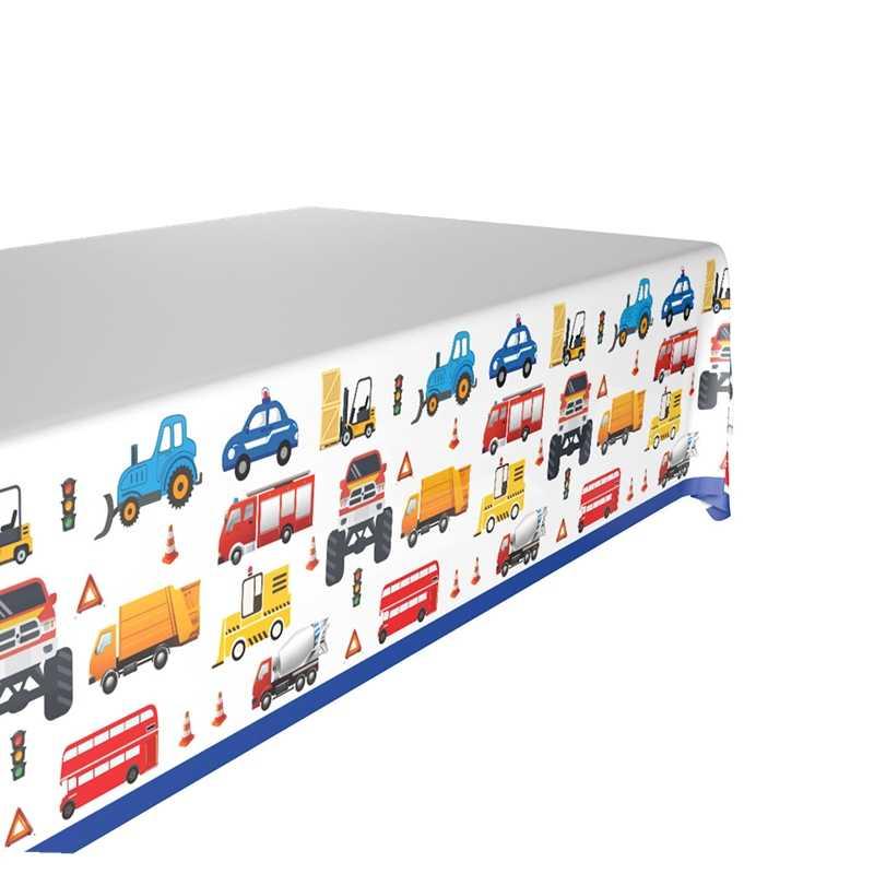 33 種類の漫画テーブルクロス少年少女子供ハッピーバースデーパーティーの装飾プラスチックテーブルカバーベビーシャワー使い捨てテーブルクロス