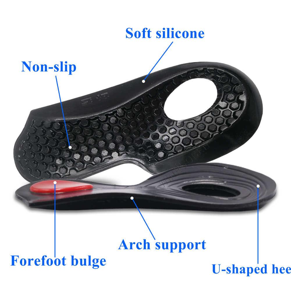 Winruocen Mới Dẻo Silicone Đế Trong Flatfoot Trong Vòng Tám Ngón Chân Orthotic Varus Đúng Đế Giày Xo Loại Chân Orthotic Giày Miếng Lót