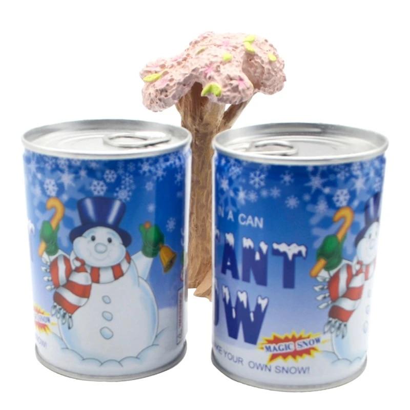 ARTIFICIAL MAGIC SNOW Fake Instant Powder White Christmas Decoration Wedding 25c