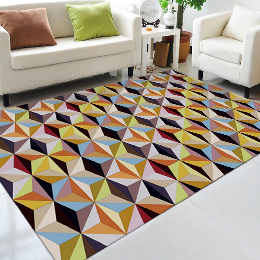 Us 8 31 42 Off Living Room Area Rug Runner 3d Anti Skid Floor Mat Carpet Doormat Anti Skid Bedroom Floor Carpet Machine Washable Floor Carpet In