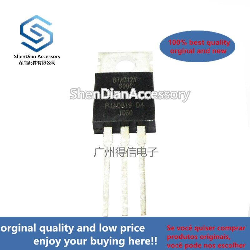 10pairs 100% Orginal New BTA312-600C 312 TO-220 3Q Hi-Com Triac Real Photo