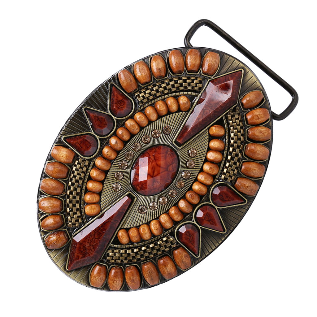 Mens Novelty Western Bohemian Boho Belt Buckle Clothing Jeans Jewelry Decor