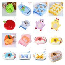 Esponja de baño para frotar para bebé, cepillos de baño de algodón, productos de ducha, accesorios de toalla suaves y cómodos