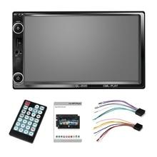 2 Din Автомобильный мультимедиа автомобильный радиоприемник проигрыватель Bluetooth Mirrorlink 2Din Hd пресс радио Mp5 плеер Usb аудио стерео Cl