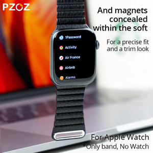 Image 5 - PZOZ Leather strap Replacement Sport Band For Apple Watch Series 1 2 3 4 5 42mm 44mm Wrist Bracelet Leather Strap 38mm 40mm