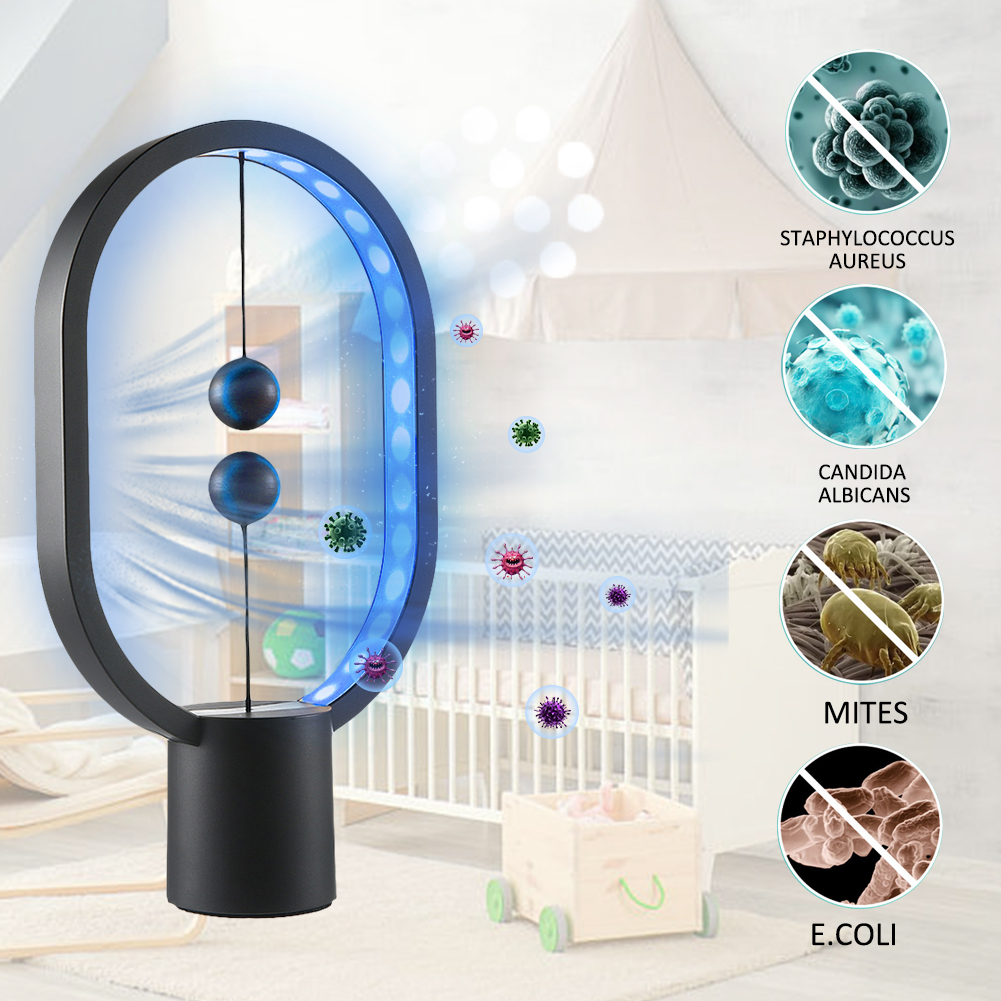 Disinfection UV Lamp Home Ultraviolet Sterilization Germicidal Bacterial Disinfect Virus Lights for Home Office Travel