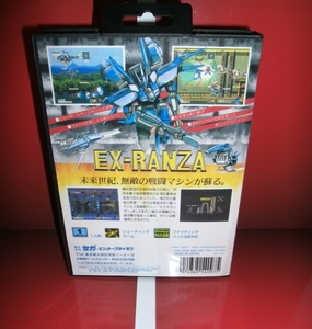 Image 2 - MD games card   EX Ranza Japan Cover with Box and Manual for MD MegaDrive Genesis Video Game Console 16 bit MD card