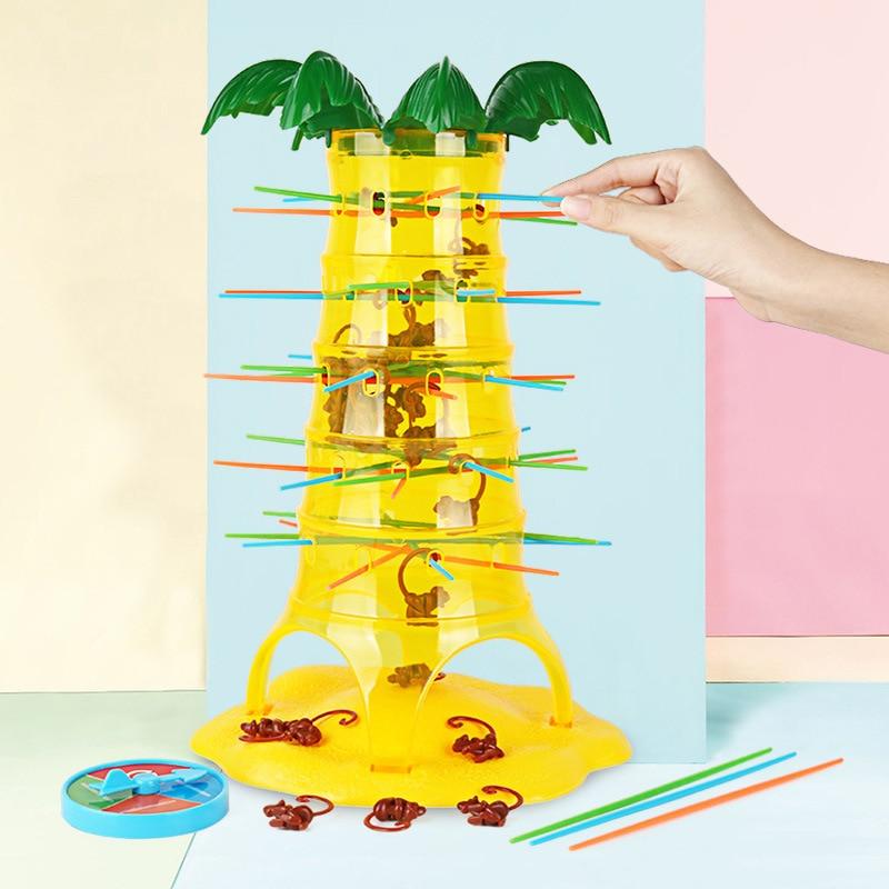 Children's Interesting Intelligence Toys Turn Monkeys Down Monkey Tree Climbing Desktop Game Party Game Funny Toys