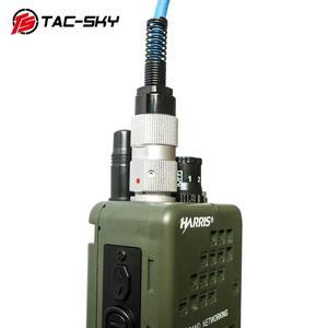 Image 3 - TAC SKY AN / PRC 152 152a Военная рация модель радио военный Харрис виртуальный чехол + Военная гарнитура ptt 6 pin PELTOR PTT