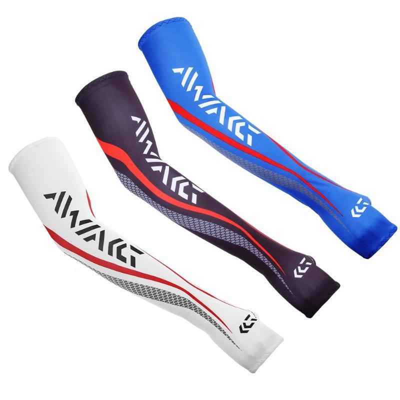 1 זוג קיץ UV שמש הגנת זרוע שרוולי עבור דיג ריצת רכיבה על אופניים ספורט רכיבה קירור זרוע שרוולי מחממי כיסוי