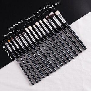 Image 3 - BEILI Black Premium Professional 22pcs Makeup Brushes Set Powder Foundation Goat hair Eyeshadow Blending Beauty Make up Brushes