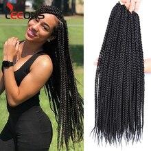 Leeons High Quality Braiding Hair Extension Synthetic Hair