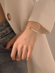 925 sterling silver jewelry with Thai silver face bracelet simple retro bracelet for female birthday gifts