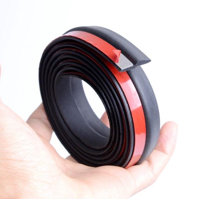 Z Type joint de porte de voiture isolation phonique joint d'étanchéité bande de caoutchouc garniture Auto joints en caoutchouc joint en forme de Z 5