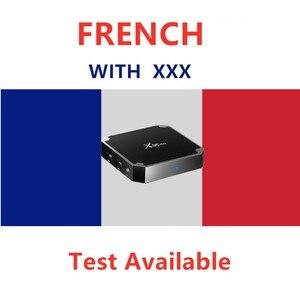 Image 1 - Français ott IPTV boîte avec XXX arabe support Android Smart Tv Enigma2 PC Test gratuit