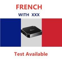 Fransız ott IPTV kutusu XXX arapça destek Android akıllı Tv Enigma2 PC ücretsiz Test