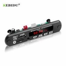 KEBIDU פענוח לוח מודול Bluetooth MP3 LED 12V DIY USB TF רדיו FM מודול אלחוטי Bluetooth מפענח שיא MP3 נגן
