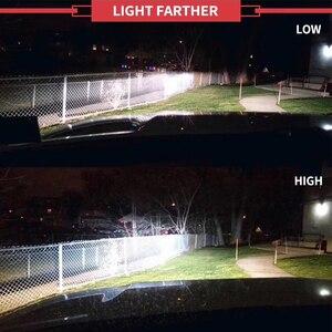 Image 4 - CNSUNNYLIGHT K5 H4 H7 H11 ZES LED H8 H9 H1 880 Car Headlight Bulbs 9005 9006 H13 Headlamp Lights Replace COB Auto Led Lamp 6500K