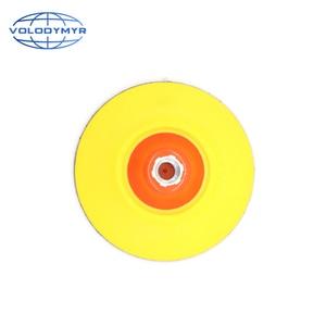 Image 3 - Rotante Piastra di Supporto Gancio e Anello di 5 Pollici con M14 o M16 Filo per Auto Lucidatrice Macchina di Lucidatura Tamponi Per Lucidatura pad polacco