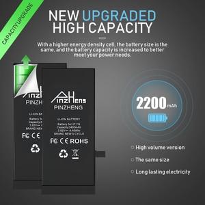 Image 2 - بطارية عالية السعة من PINZHENG لهواتف iPhone 6 6S 7 8 Plus X بطارية بديلة لهاتف iPhone 7 8 6 6S Plus X
