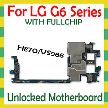 Unlocked Motherboard For LG G6 H870 VS988 H870DS 2sim Original Mainboard with Full chip Unlock Logic Board Mother Board  Android