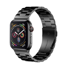 цена на Classic Metal Stainless Steel Band for Apple Watch 5 44mm 40mm 42mm 38mm Link Bracelet Strap for IWatch Series 1 2 3 4 Watchband