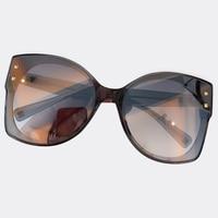 2019 Vintage Sunglasses For Women Acetate Frame Brand Mirror Sunglasses UV400 Shapes