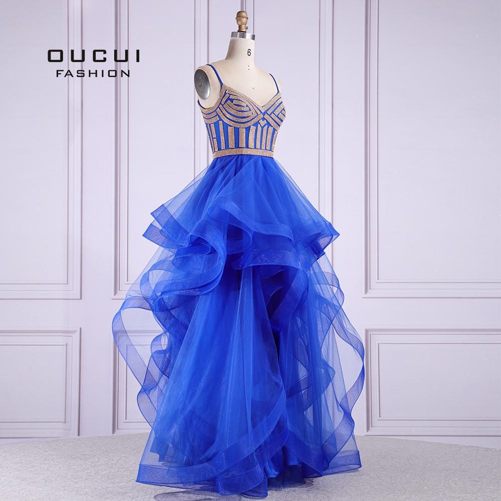 Oucui elegante longo vestido de baile 2020