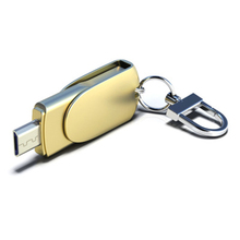 2.0 USB Flash Drive Mobile phone computer dual USB OTG Memory Pen Drive Stick 8GB 16GB 32GB 64GB 128GB Flash Drive U disk - Gold taou kk smart phone u disk usb flash drive blue 8gb