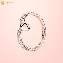 Danturn осенние оригинальные кольца из стерлингового серебра