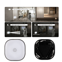 LED PIR Body Motion Sensor Activated Wall Light Night Light Induction Lamp Closet Corridor Cabinet led Sensor 8 LEDS Light Lamps motion sensor light smart human body induction nightlight mini led night light battery powered closet cabinet toilet lamps light