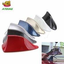 Antenne universelle d'aileron de requin sur le toit pour voiture, pour voiture, modèle de voiture, décoration
