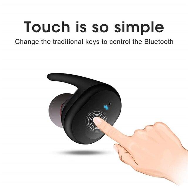 Sports Fashion Sound Good TWS4 Bluetooth 5.0 Earbuds Wireless Earphones For Sony Xiaomi Samsung Portable Audio & Video 4