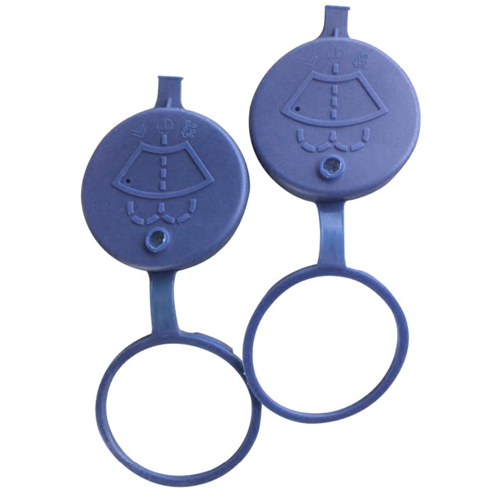 2 предмета автомобильный стеклоочиститель омывателя резервуар бутылки шляпа котелок Крышка для Peugeot 106 206 207 307 для Citroen и т. д.
